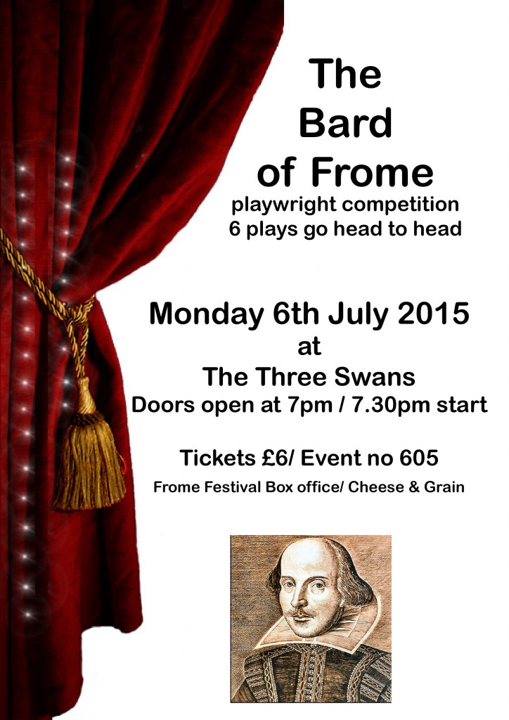 Bard of Frome poster 14 June'15