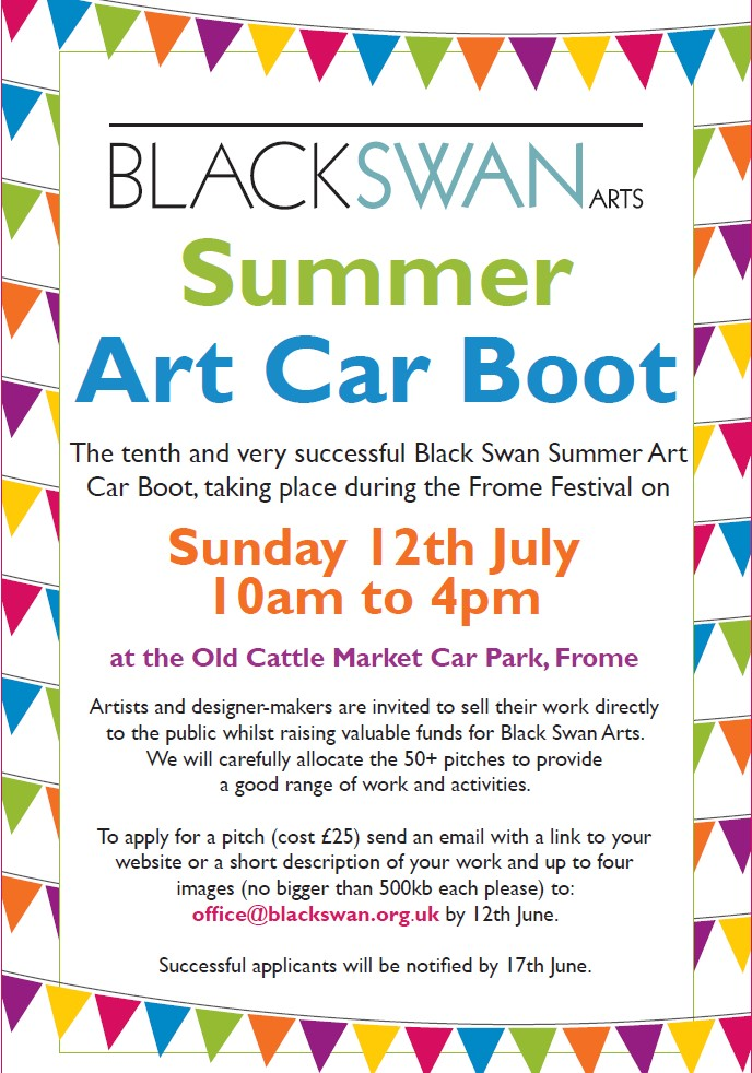 Black Swan Art Car Boot